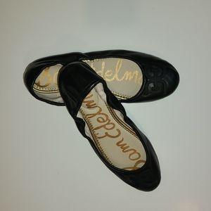 "Sam Edelman ""Florence"" black ballet flats Size 9"